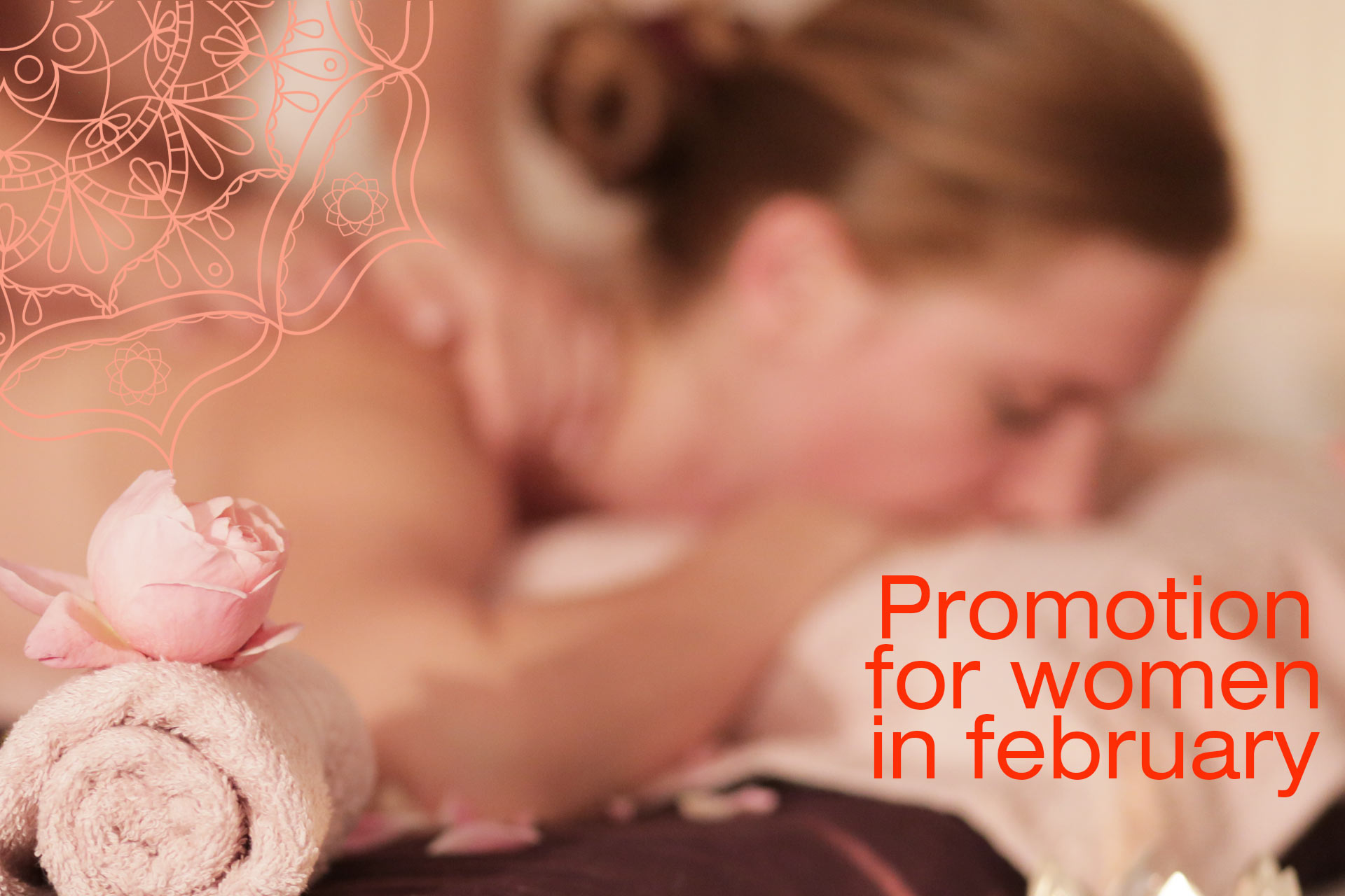 Special massage offer for women in February 2018!