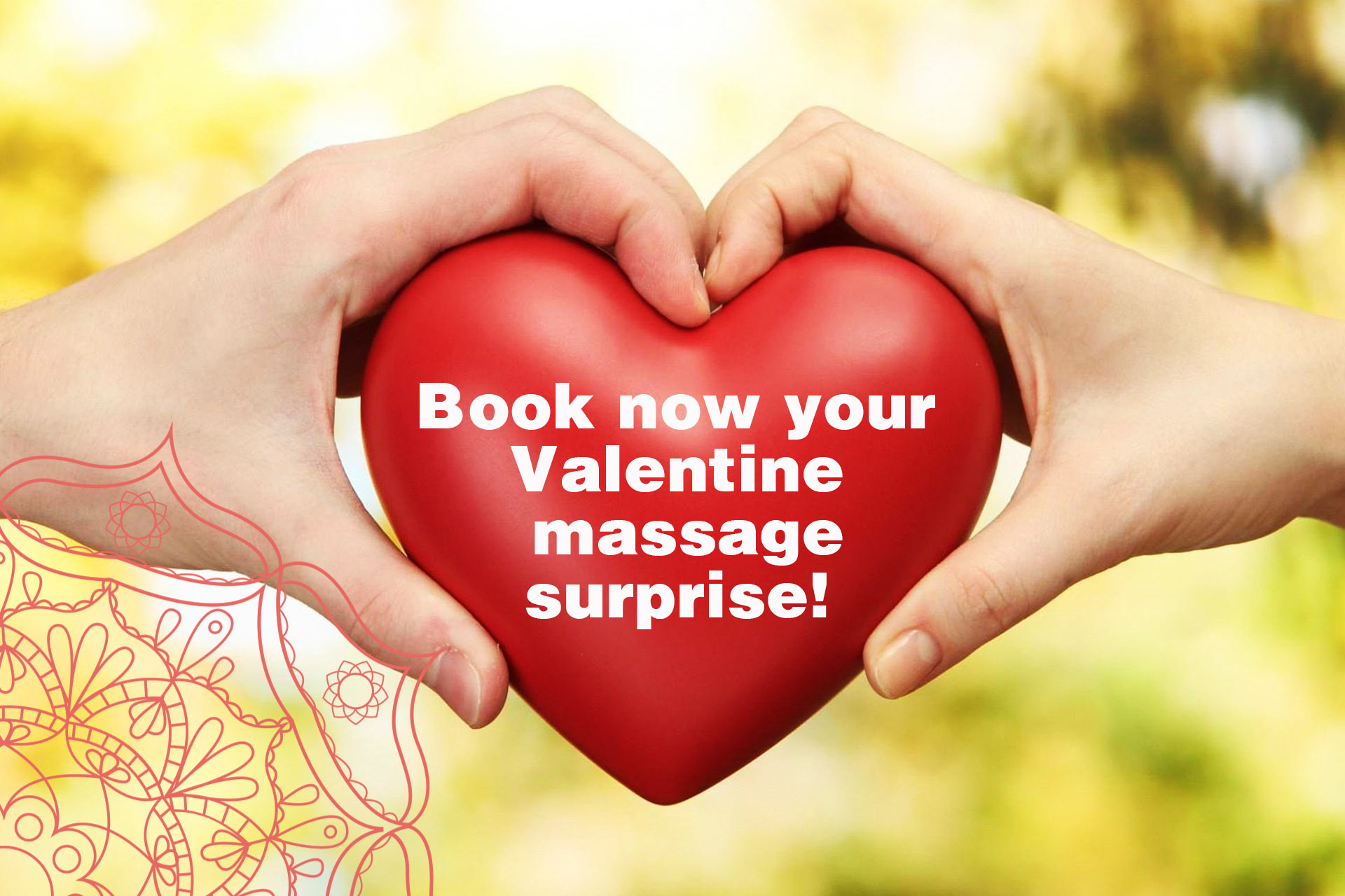 St. Valentine discount for couples! January 30th - February 18th 2018